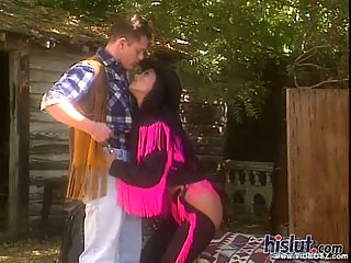 Nikita Denise is one sexy cowgirl