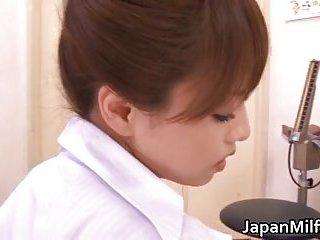 Akiho Yoshizawa banged in office