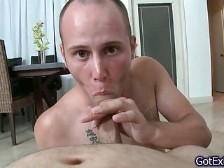 Gay sucking POV cock