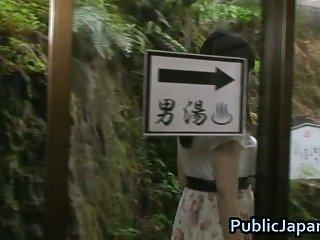 Azusa Nagasawa has big Japanese boobs