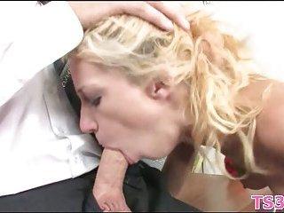 Girl gets teachers big cock