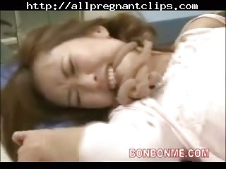 Prego Milf Creampie Fucked By Doctor