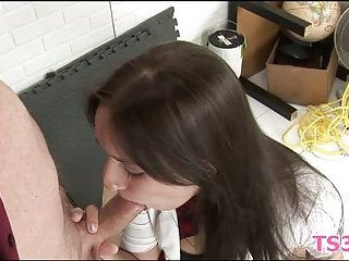 Girl forced to suck dick scene 2