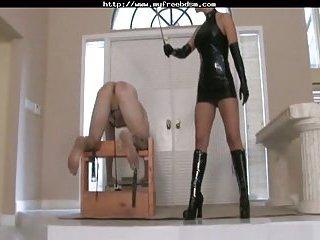 Caning bdsm bondage slave