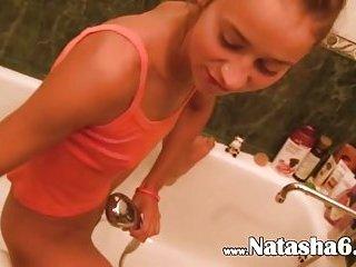 Natasha Russian playing with my dick