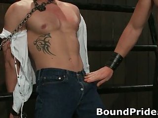 Christian trent gets his tortured ass fcuked