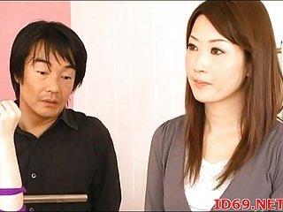 Japanese nude babes in bondage