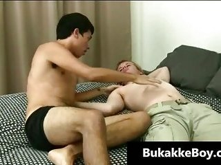 First time feeling a dick