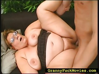 Granny gets pleasant insertions