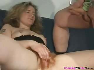 Very hairy mature wife