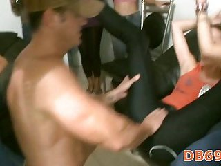 Different blow jobs at hen-party scene 8