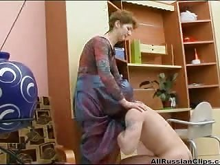 Pussy Licking Russian Mom