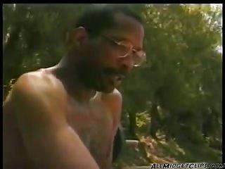 Sexy Midget Takes Black Cock