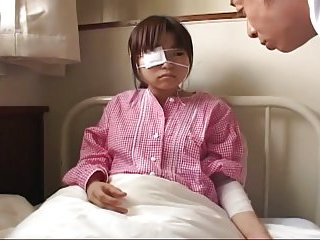 Japanese teen examined by doctor