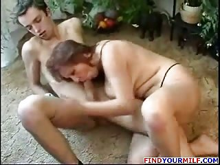 Mature Mom and Son friend