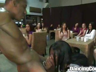 Cock Dancing Blowjob