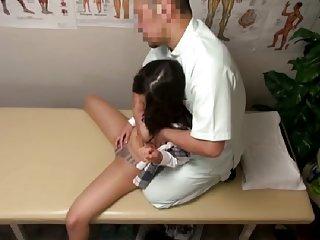 Spycam Schoolgirl Climax Massage scene 2