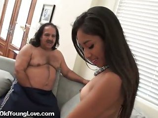 Asian Cutie Pays With Mature Cock
