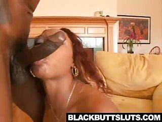 Sexy Ebony girl gets her ass fucked