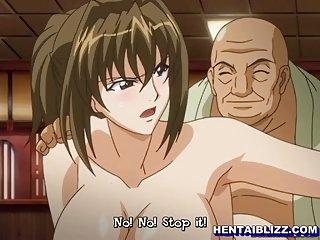 Japanese hentai girls get fucked hard