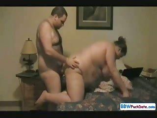 Amateur BBW and Fat Husband