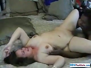 BBW White Girl With Big Black Cock