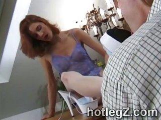 Freaks pleasing perverts foot fetish
