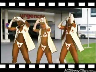 African Mapouka Sexy Ebony Booty Eurodance