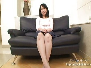 Thumb Japanese mom hairy cunt drilled