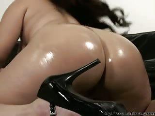 Sonia Glaze latina gets black cock