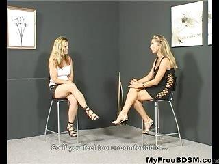 Caning Girls Bondage