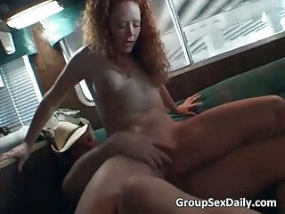 Mature exhibitionist slut