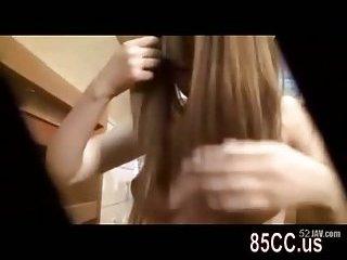 Thumb Hitomi Kitagawa shows masturbation