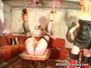 Fat mature slut loves BDSM