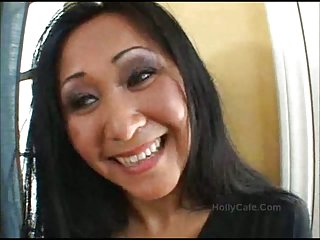 Jizz On Asian MILF Pussy Asian Blowjob
