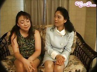 Thumb Mature Japanese lesbians