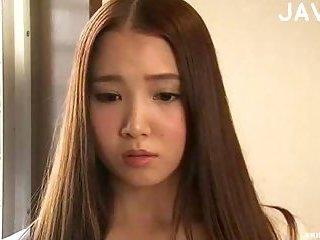 Teen Cute Asian Girl Kissing Mature Guy