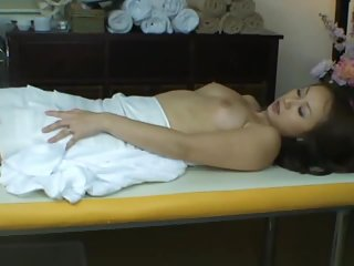 Thumb Wife reluctant orgasm during health massage
