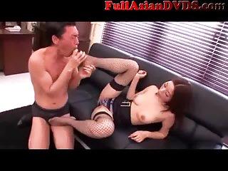 Thumb Risa Kasumi Fishnet Stockings Girl