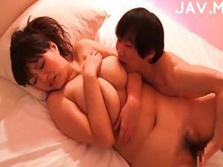 Asian Couple Fucking On A Bed