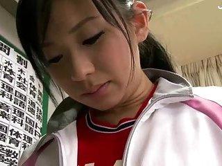 Japanese Girl Playing With Vibrator