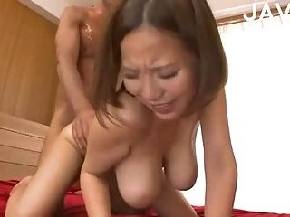 Big Breasted Asian Bitch Fucked
