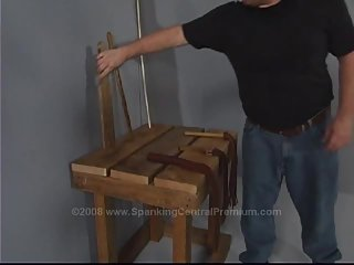 Spanking Justin Ass