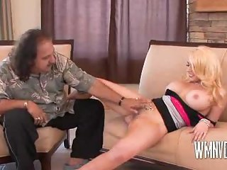 Ron Jeremy Inspects Her Pussy First