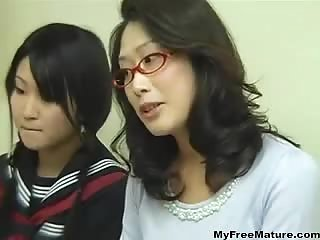 Thumb Mom Having Sex While Her Daughter Studying
