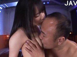 Boobs kissing