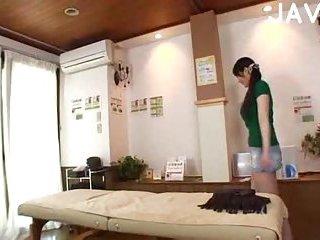 Japanese slut gets boobs massaged