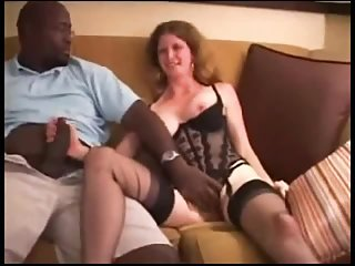 Thumb Swinger wife gets her first bbc