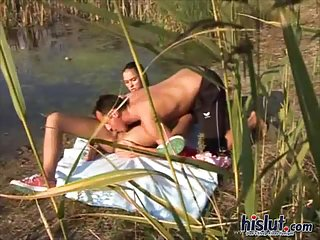 Victoria loves outdoor sex scene 2