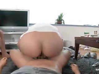 Booty Japanese POV style sex scene 2